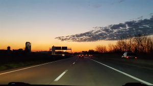 sunset - Autobahn