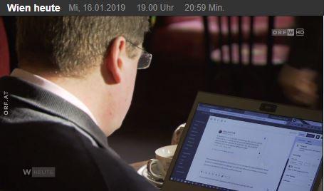 The author on Wien Heute